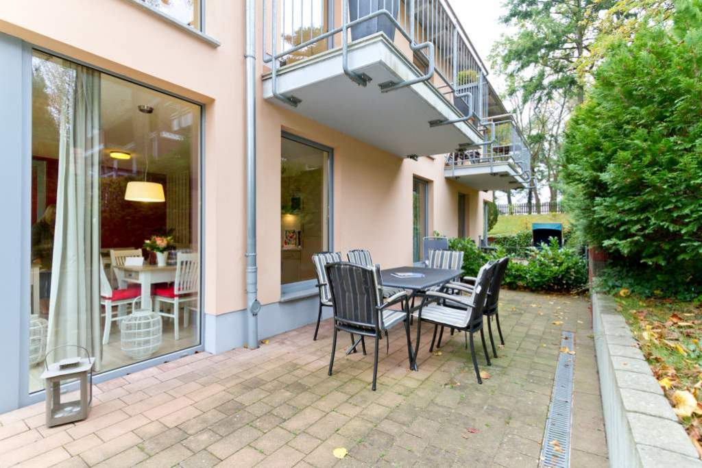 Ferienwohnung in heringsdorf seebad haus auf dem h gel for Die moderne haus