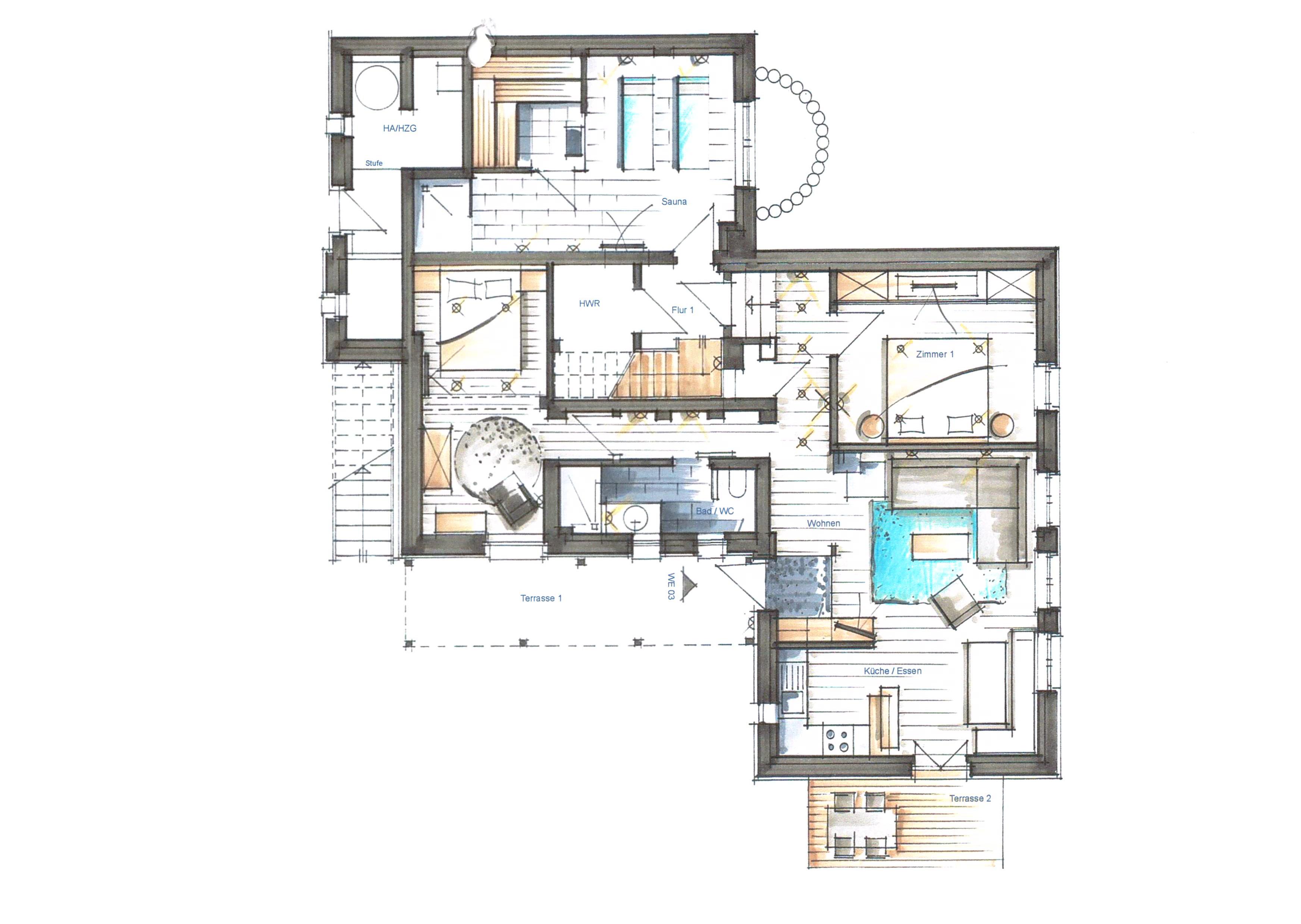 kapit nshaus app 03 ferienwohnung in heringsdorf seebad usedomtravel. Black Bedroom Furniture Sets. Home Design Ideas